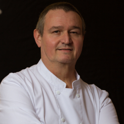 Chef Pascal Mullier faculty of culinary institute in india