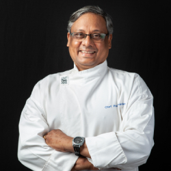 Chef Paul Fernandes faculty of kamaxi culinary arts college