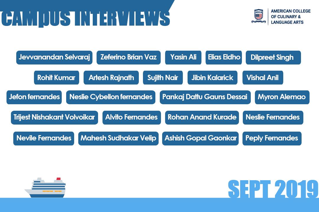Campus interviews | KCCA