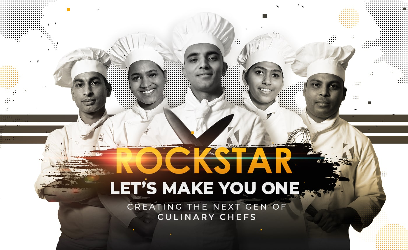 The BVOC - Culinary Management Programme roackstar